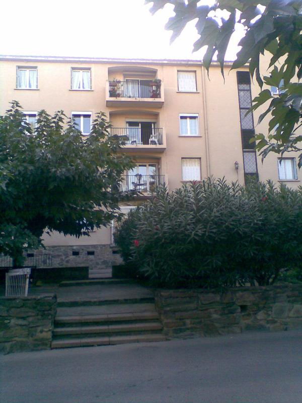 Apartment with 3 bedroom windows and Terrace on 2nd level of 4 levels.