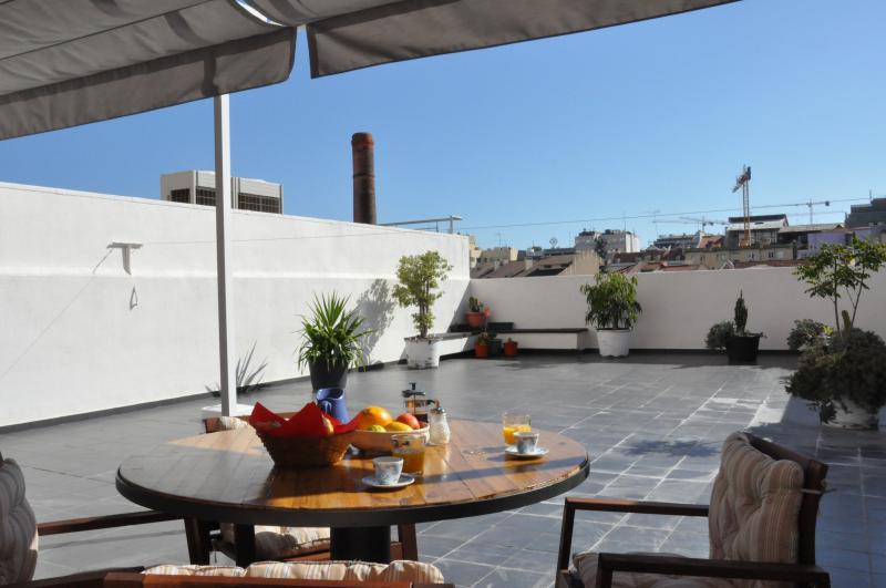 Stunning sunny terrace