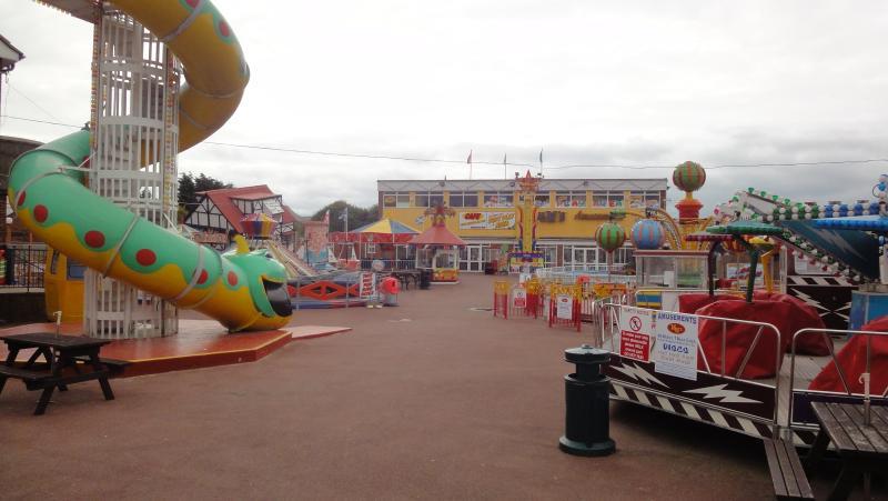The Fun Fair At Dymchurch