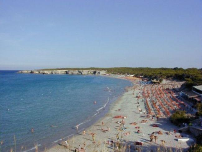 The beach of Torre dell'Orso