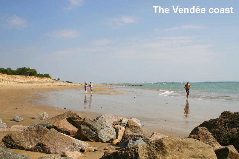 The Vendee coast