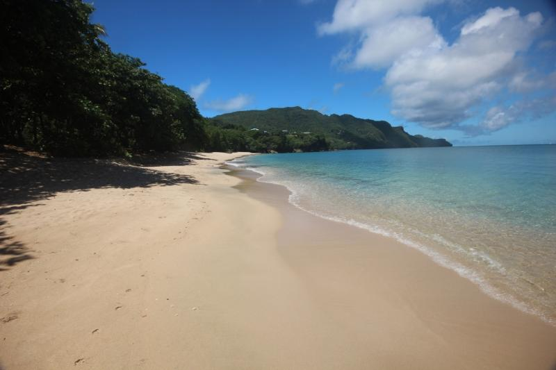 Princess Margaret Beach. Beautiful white sand, uncrowded, unspoilt and totally safe.