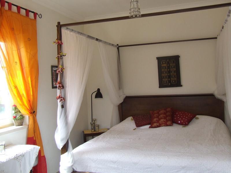 Ground floor bedroom - opens onto poolside/garden