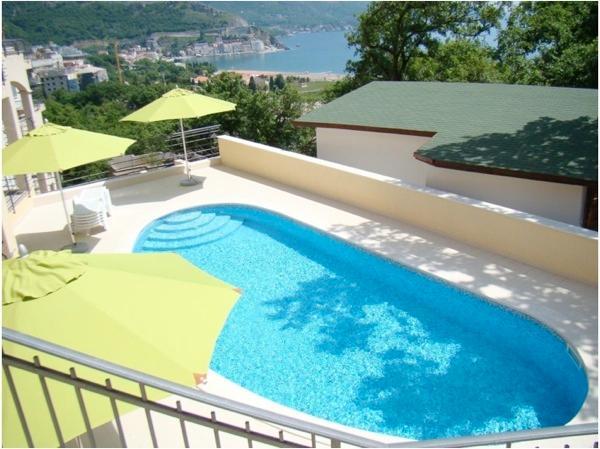 Apartment in Becici Montenegro, alquiler de vacaciones en Municipio de Budva