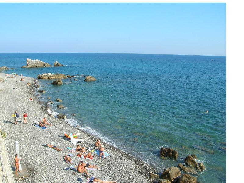 la spiaggia di 'Galeazza'