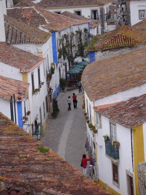 Walled medieval town of Obidos