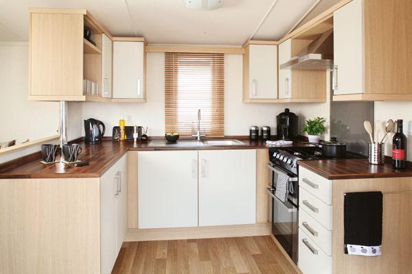 Typical Caravan Kitchen