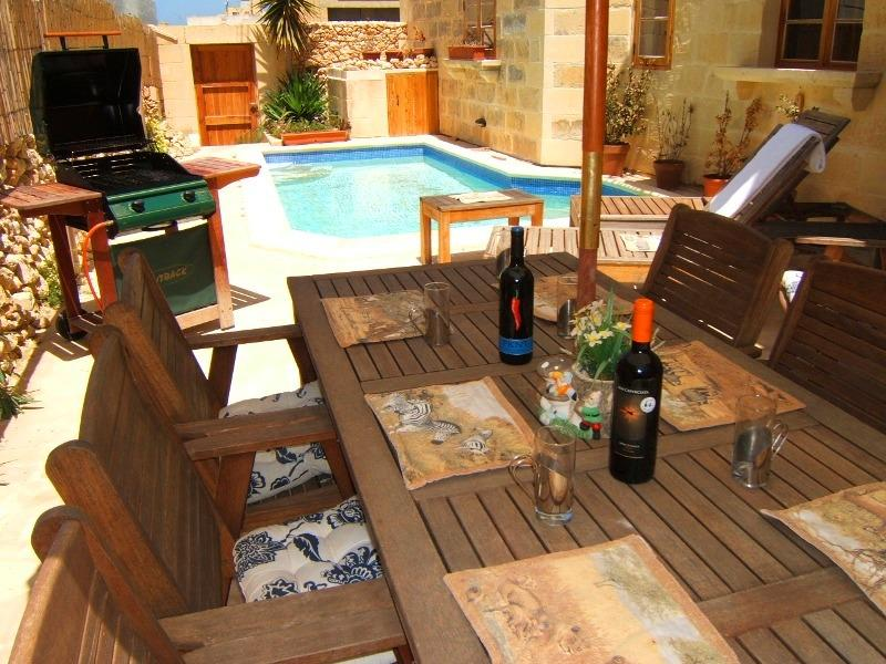 Your very own private pool deck.