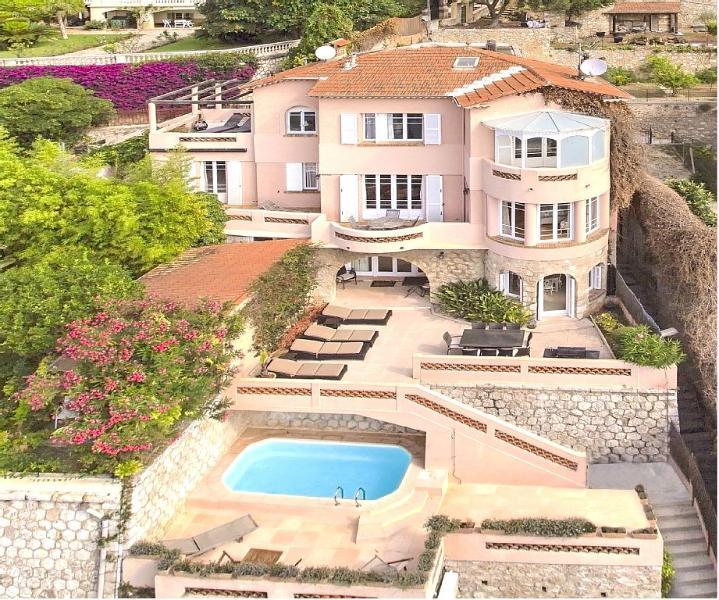 Grand Luxury Villefranche sur mer Villa