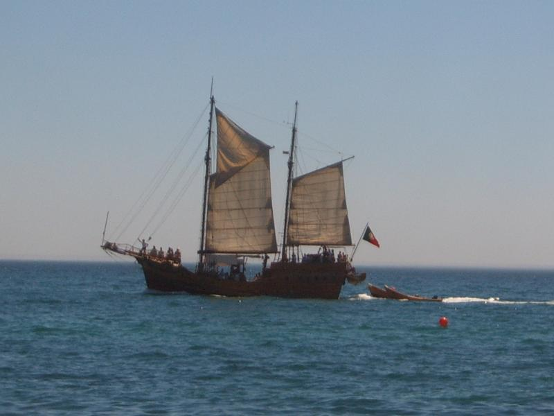 Enjoy a pirate ship cruise followed by a bbq on a beach only accessible by boat