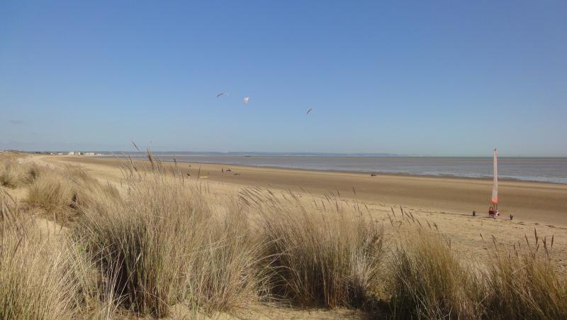 The dunes at Greatstone beach