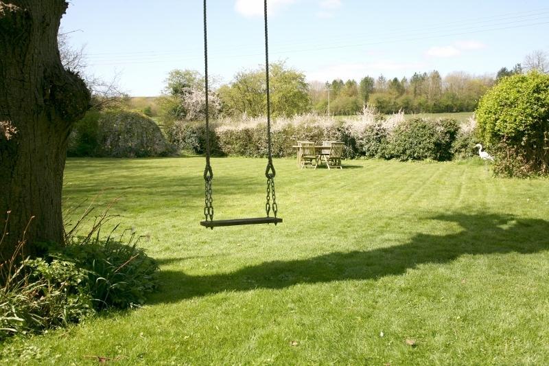 Il giardino principale al Tresco House.