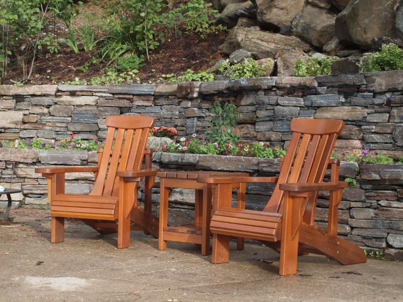 Muskoka Chairs.