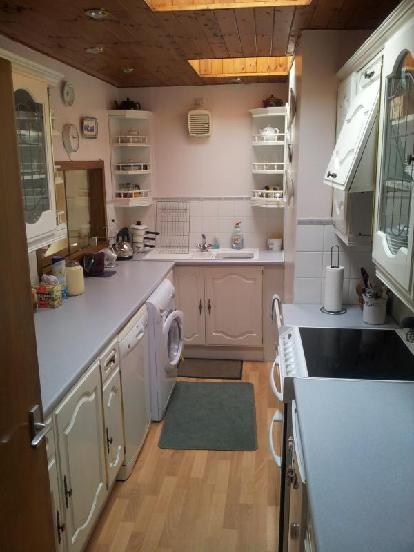 Compact Kitchen with all the pots and pans you could need
