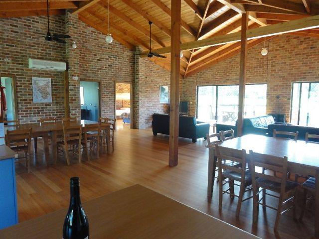 Group Lodge interior