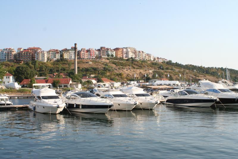 The port at nearby Sozopol