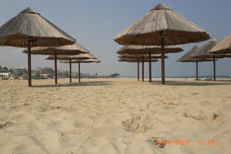 The miles of sandy beaches at Pescara.