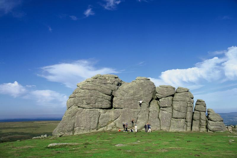 Haytor -  a natural beauty spot - only 3 miles from Lurcombe...