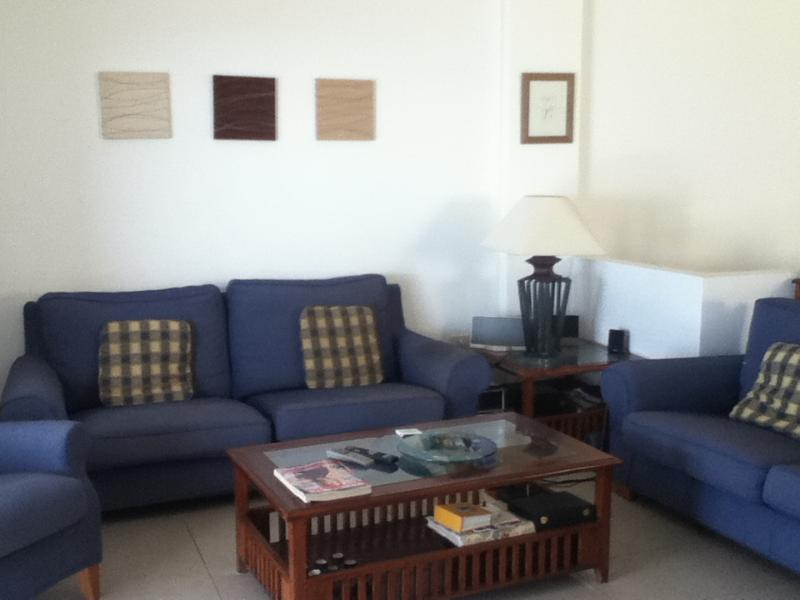 Lounge Area with sofa & chair seating for 8