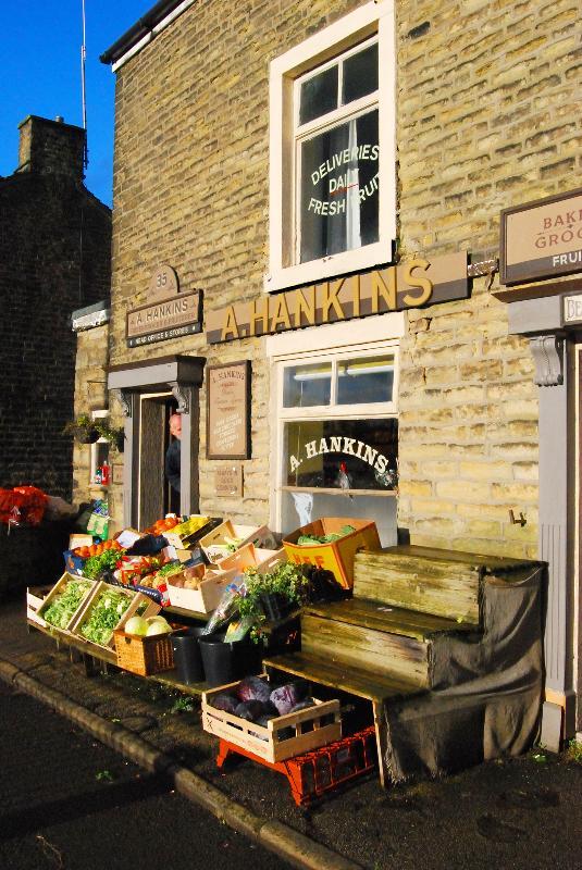 BBC drama 'The Village' was filmed in Hayfield