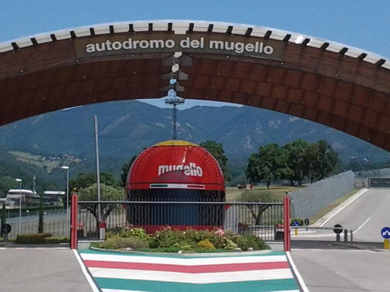 Mugello race track