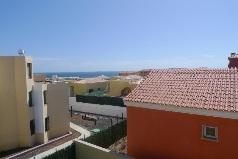 Roof top ocean view
