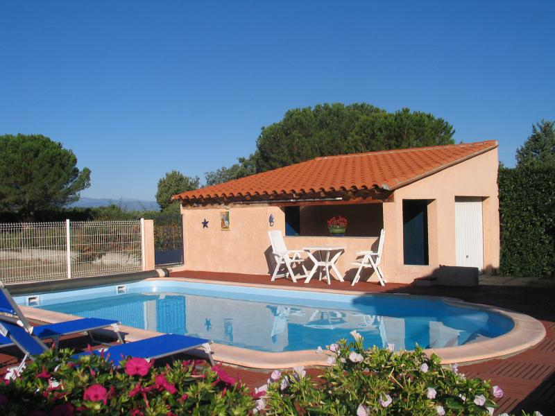 VILLA CLIMATISEE SPACIEUSE PISCINE 4 *, holiday rental in Montesquieu des Alberes