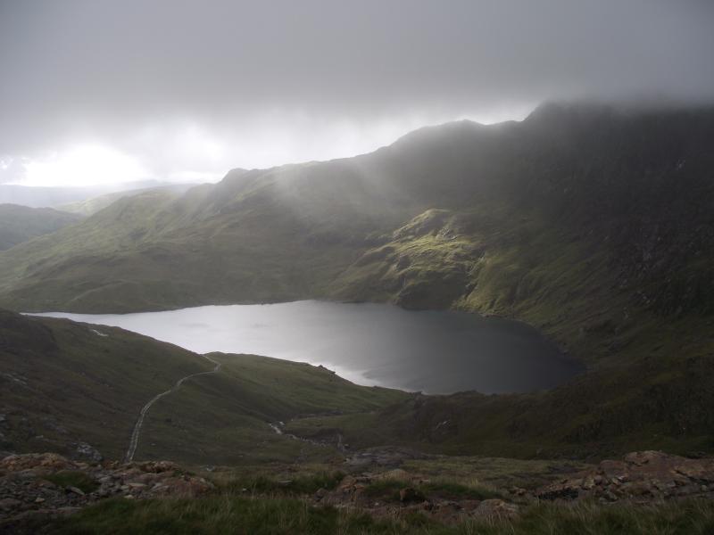 Blick vom Watkin Weg 300m von der Hütte