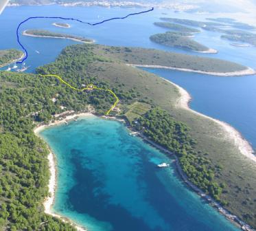 Bel appartement sur les îles Pakleni