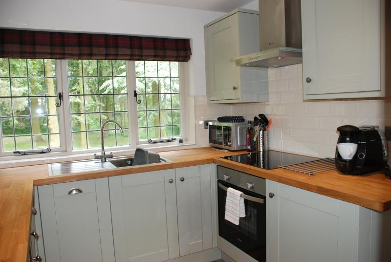 Baillie Scott kitchen with all mod cons
