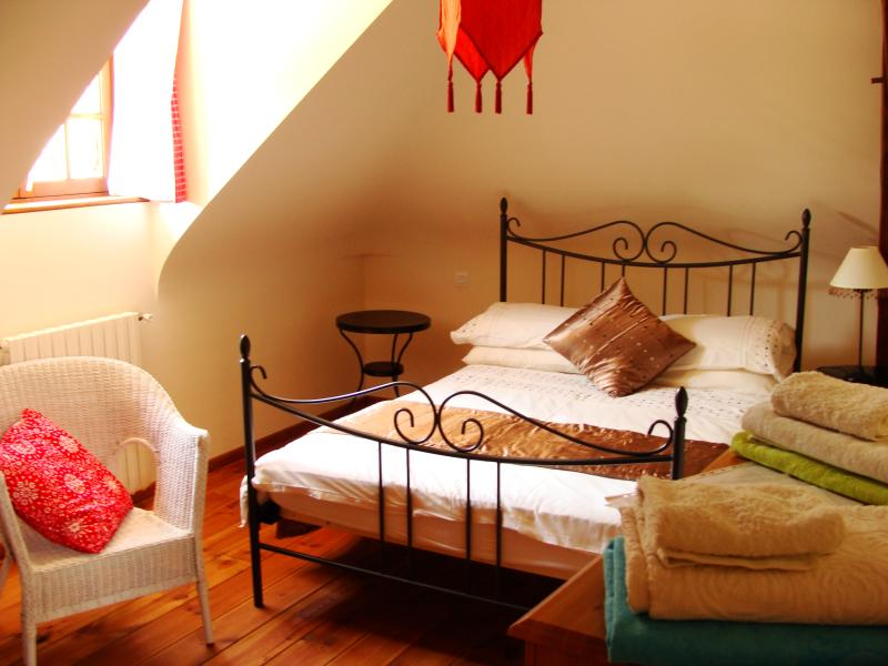 There is a further family suite with this double bedroom, a twin bedroom and family bathroom.
