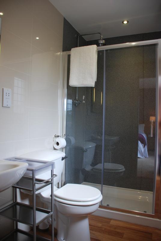 En-suite shower room in front bedroom