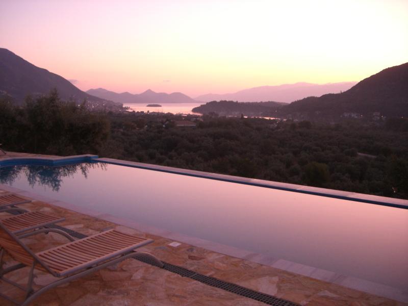 Sunrise over Nidri