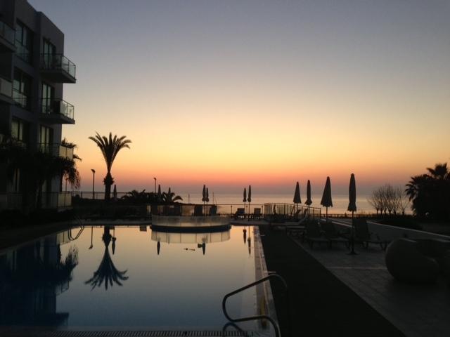 Sunset at Coralli Spa