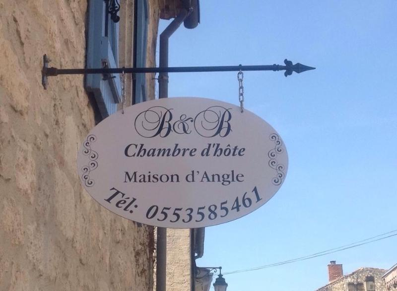 Maison d'Angle CHAMBRE D Hote, holiday rental in Eymet