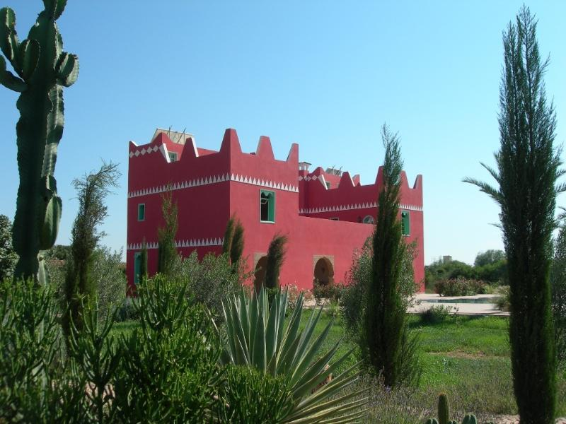La villa et son jardin (vue partielle)