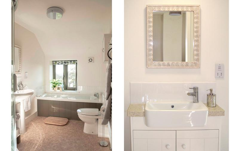 Family bathroom and ensuite.