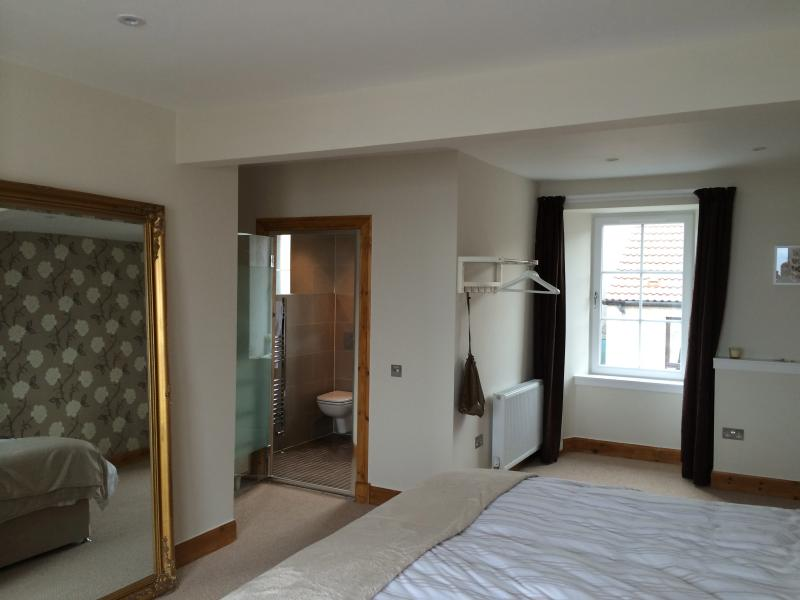 Master bedroom with wet room ensuite