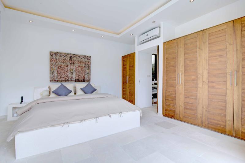 Das zweite Schlafzimmer, ähnlich eingerichtet