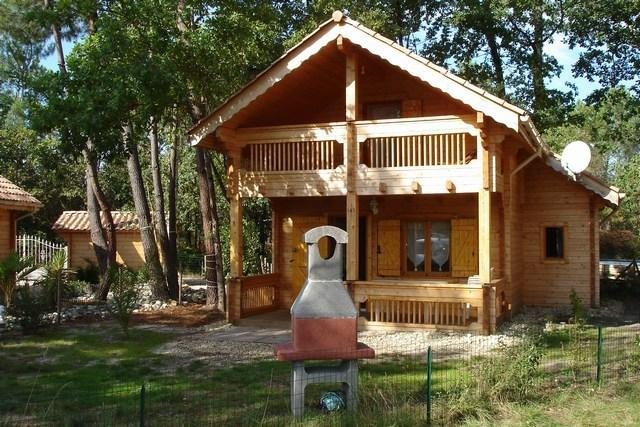 Chalet 143 arcachon dans parc de loisirs, holiday rental in Gironde
