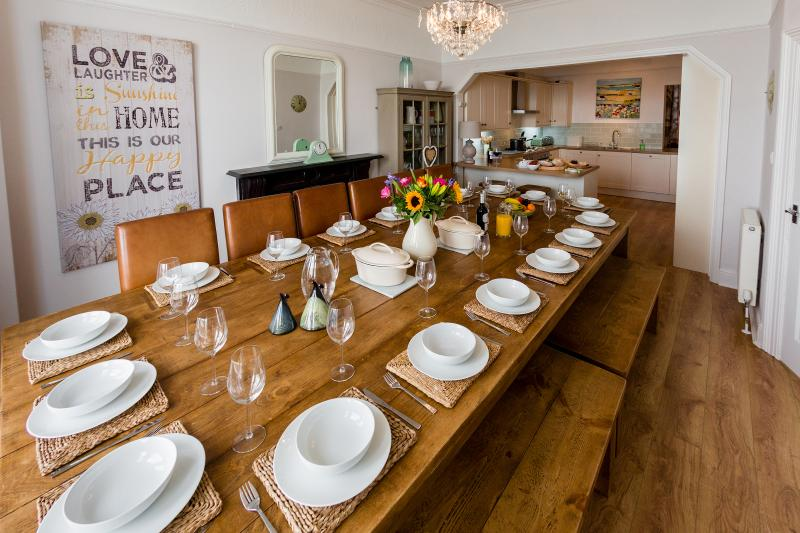 Huge Dining Table to Seat up to 18