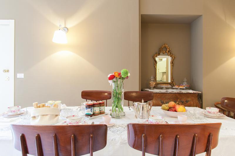 Sala colazione al primo piano