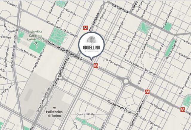Zona centro Torino - vicino alla stazione Vinzaglio Metro 1