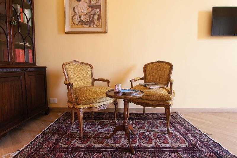 Camera Gran Torino - Zona relax e lettura