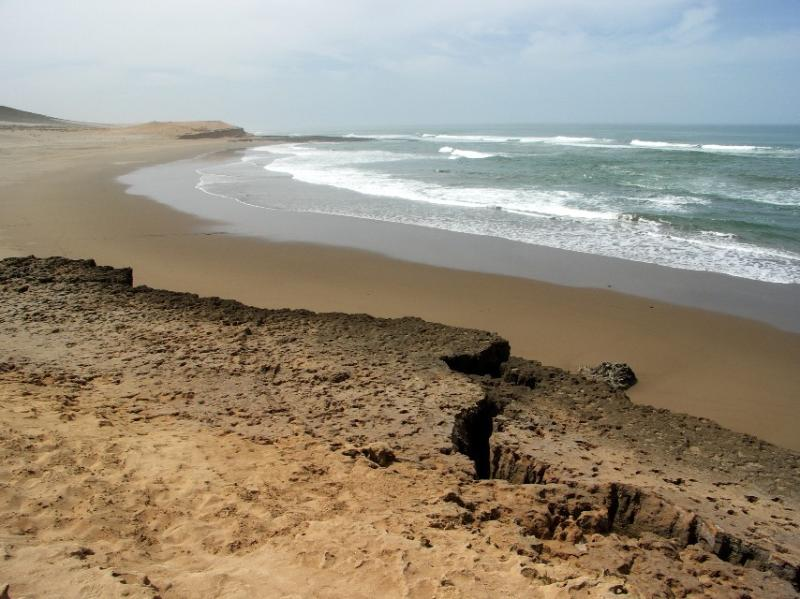 Beach located in 400 mṛdu cottage 'ocean and nature' (Sidi Boulfdail Beach)