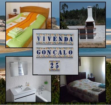 Villa Gonçalo perto da Lagoa de Óbidos c/WI-FI, location de vacances à Foz Arelho