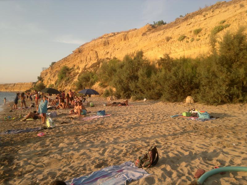 Particolare Spiaggia Cinisi - Magaggiari