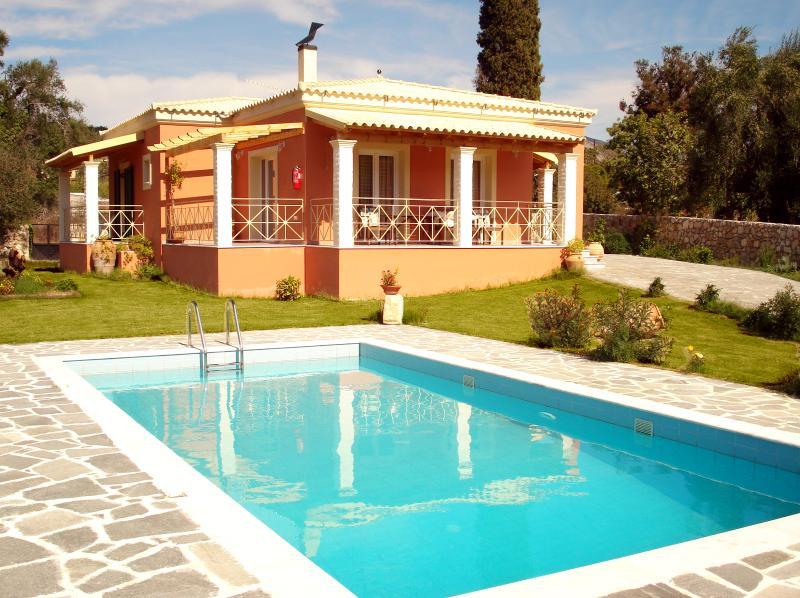 Villa Grecia, vacation rental in Paleokastritsa