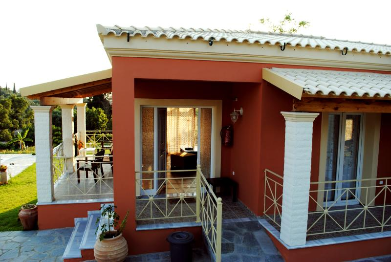Entrance of Villa Grecia
