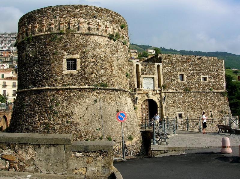 Castle Murat at the nearby historic town of Pizzo